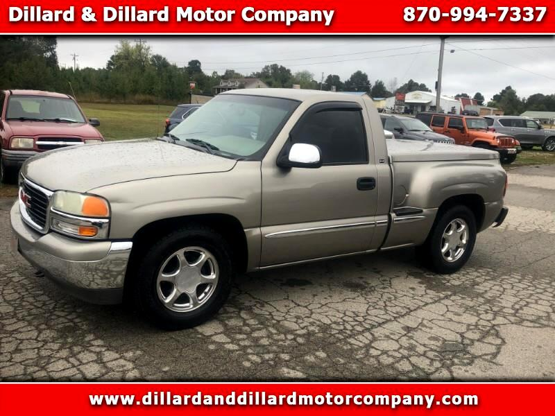 2002 GMC Sierra 1500 SLE Short Bed 2WD