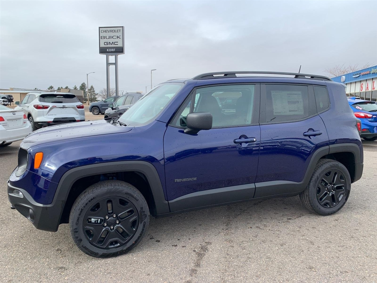Jeep Renegade Sport 4WD 2020