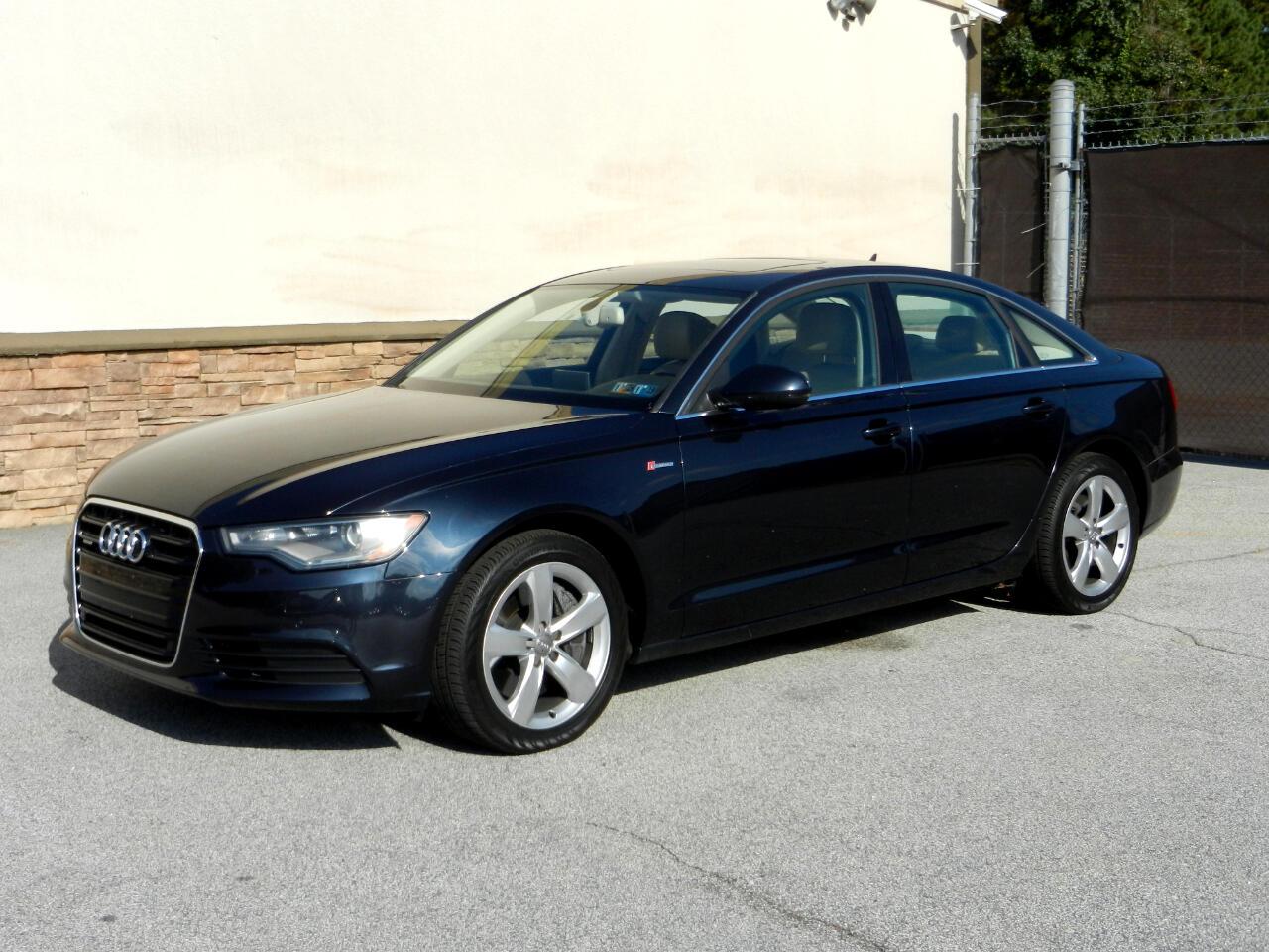 Audi A6 3.0 TFSI Premium Plus quattro AWD 2012