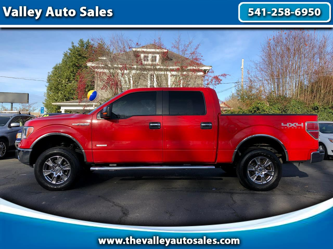 Ford F-150 XLT SuperCrew Short Box 4WD 2011