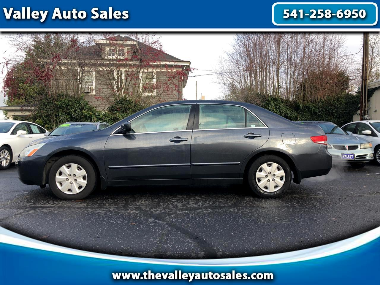 Honda Accord LX sedan AT 2004