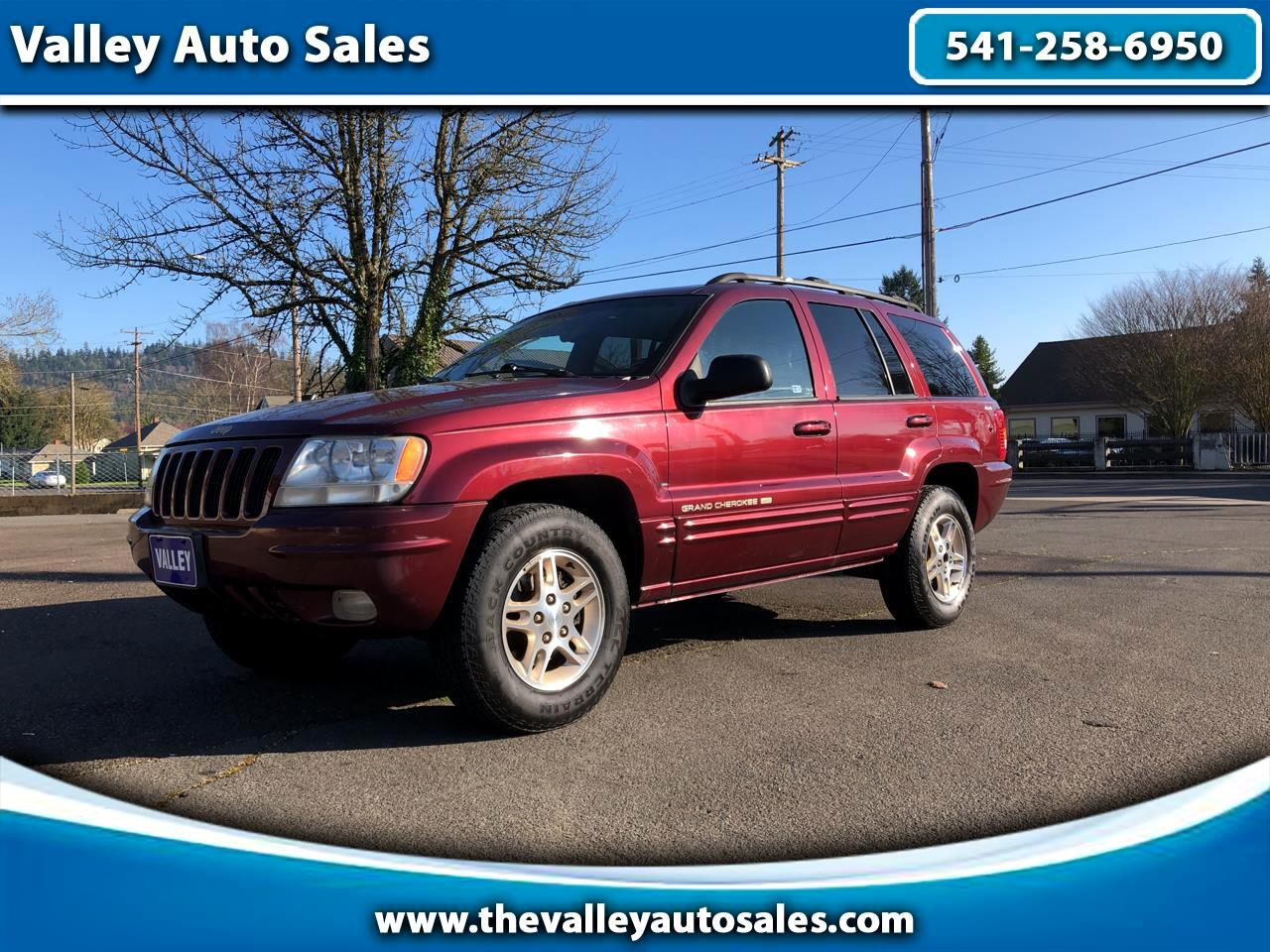 Jeep Grand Cherokee Limited 4WD 1999