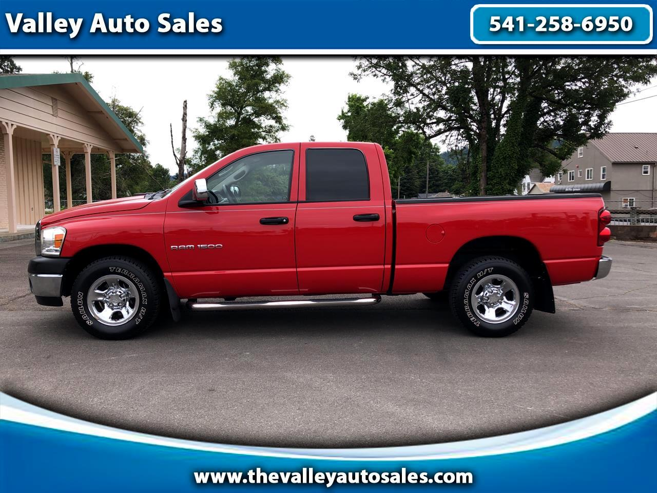 Dodge Ram 1500 SXT Quad Cab Long Bed 2WD 2008