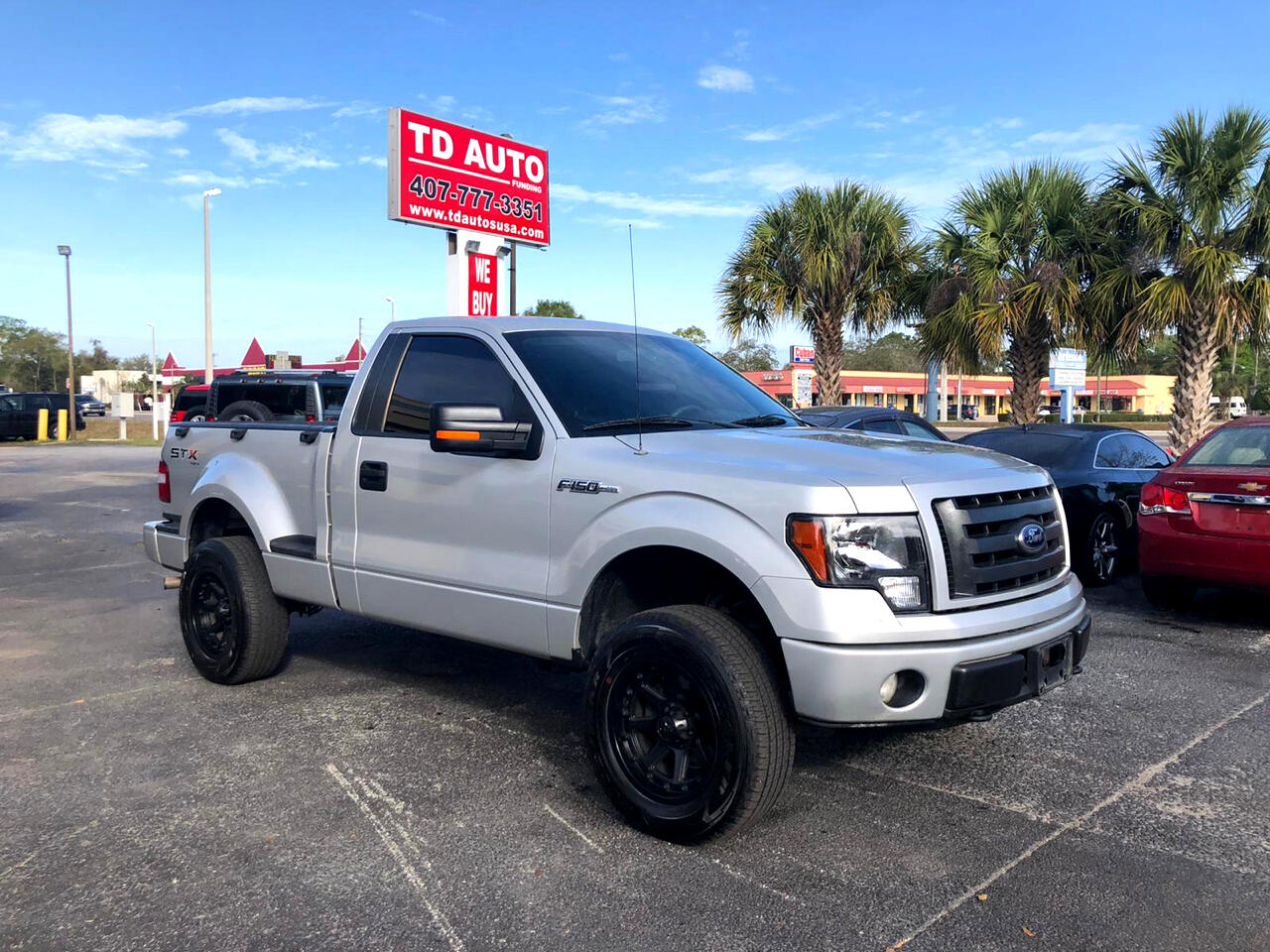 Ford F-150 STX 6.5-ft. Bed Flareside 4WD 2009