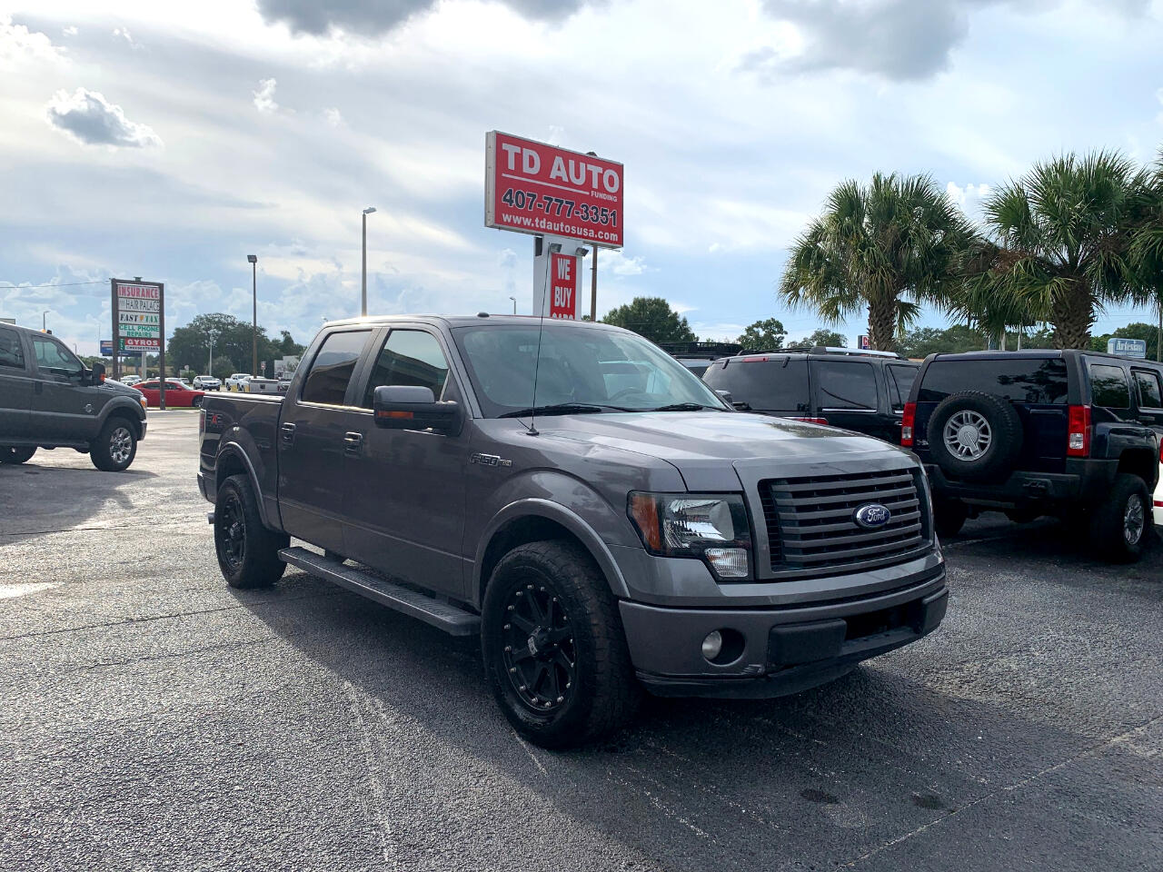 Ford F-150 FX2 SuperCrew 6.5-ft. Bed 2WD 2011