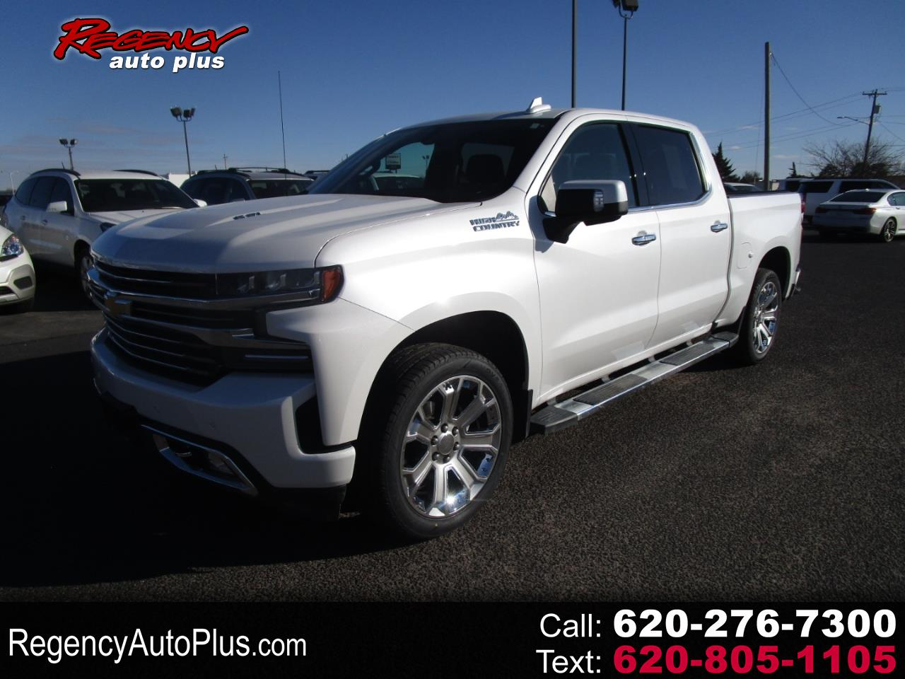 "Chevrolet Silverado 1500 4WD Crew Cab 147"" High Country 2019"