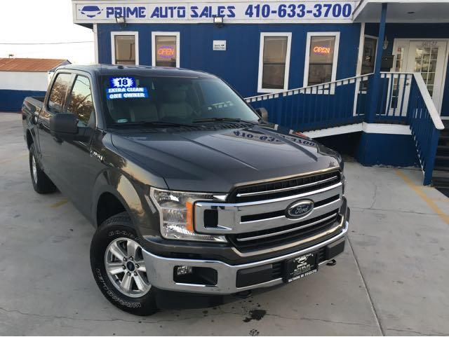 Ford F-150 XLT SuperCrew 6.5-ft. Bed 2WD 2018