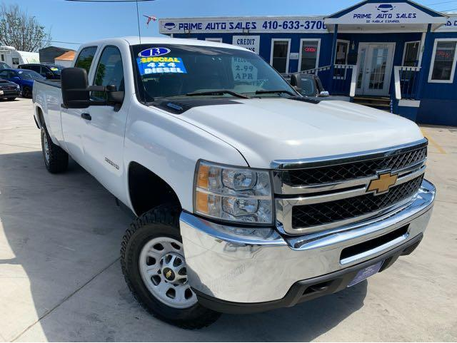 Chevrolet Silverado 3500HD Work Truck Crew Cab Long Box 4WD 2013