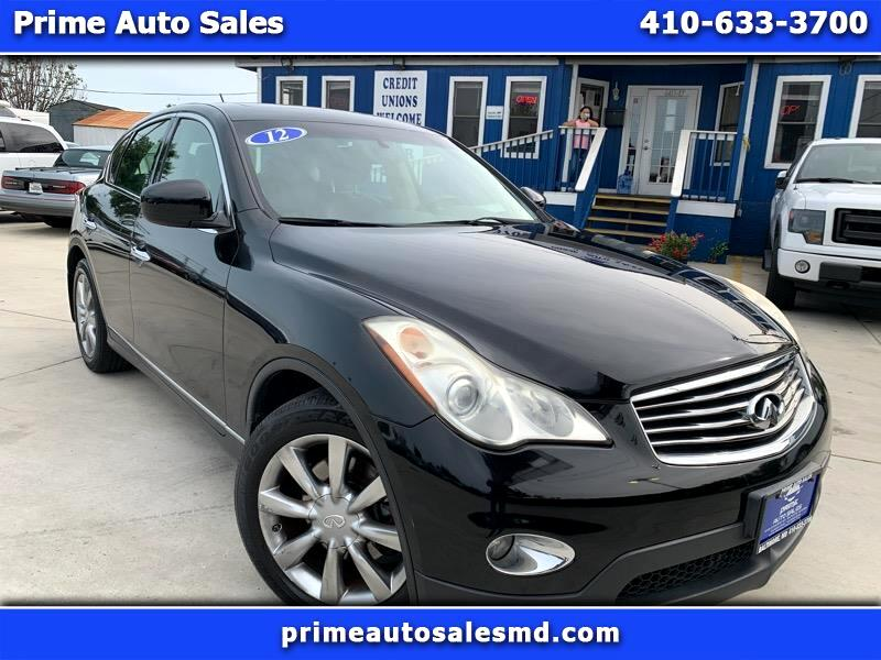 Infiniti EX EX35 Journey AWD 2012