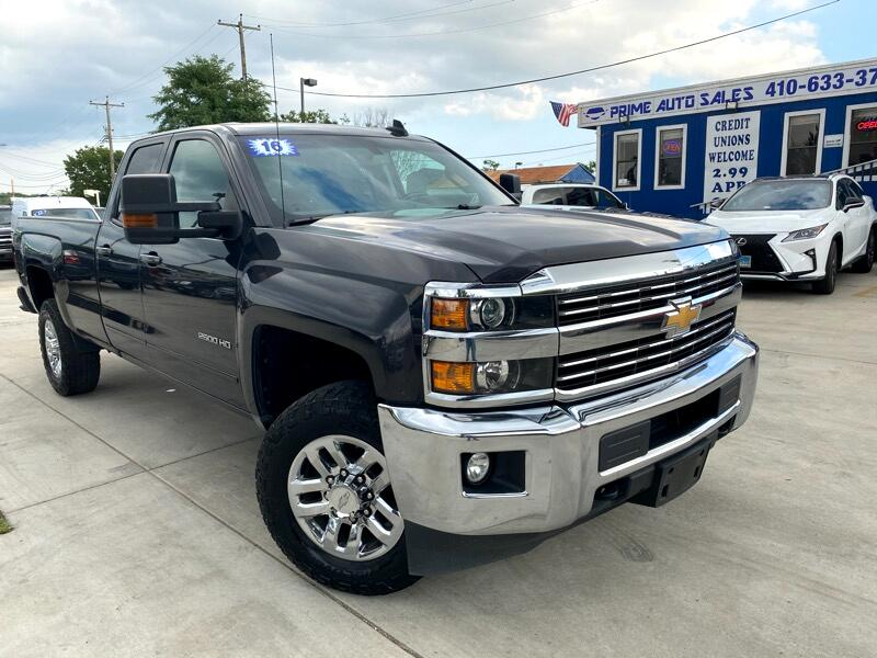Chevrolet Silverado 2500HD LT Double Cab Long Box 4WD 2016