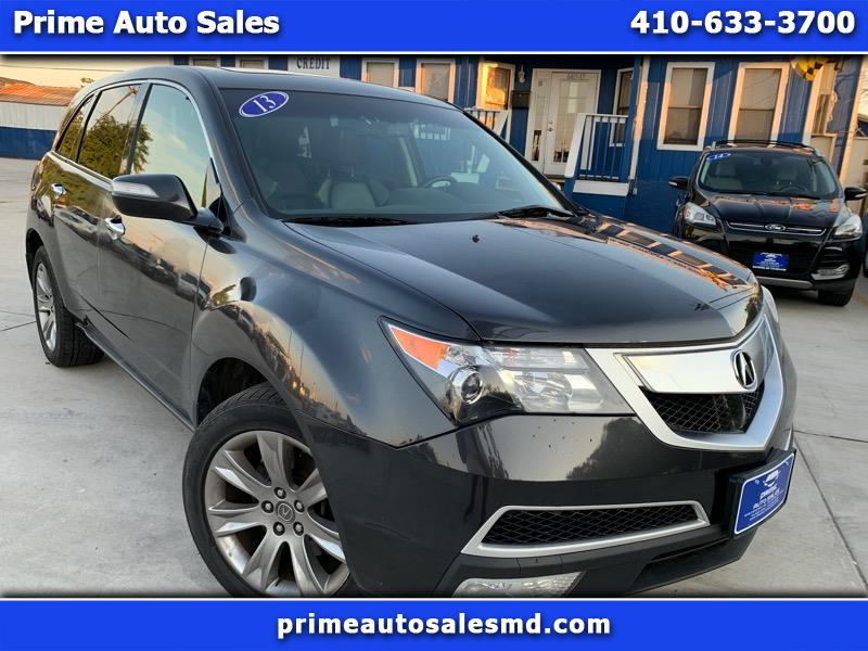 Acura MDX 6-Spd AT w/Tech and Entertainment Package 2013