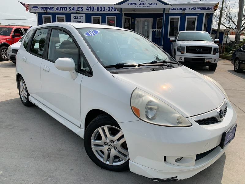 Honda Fit Sport 5-Speed AT 2007