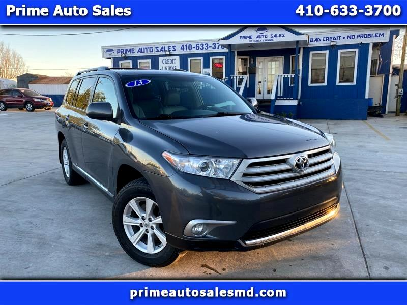 Toyota Highlander Base 4WD 2013