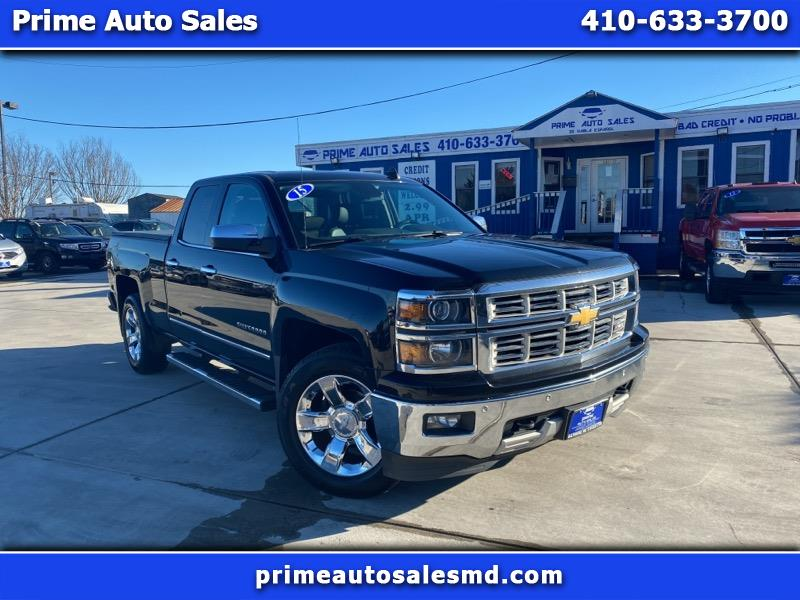 Chevrolet Silverado 1500 LTZ Double Cab Short Box 4WD 2015