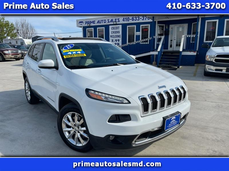 Jeep Cherokee Limited 4WD 2015