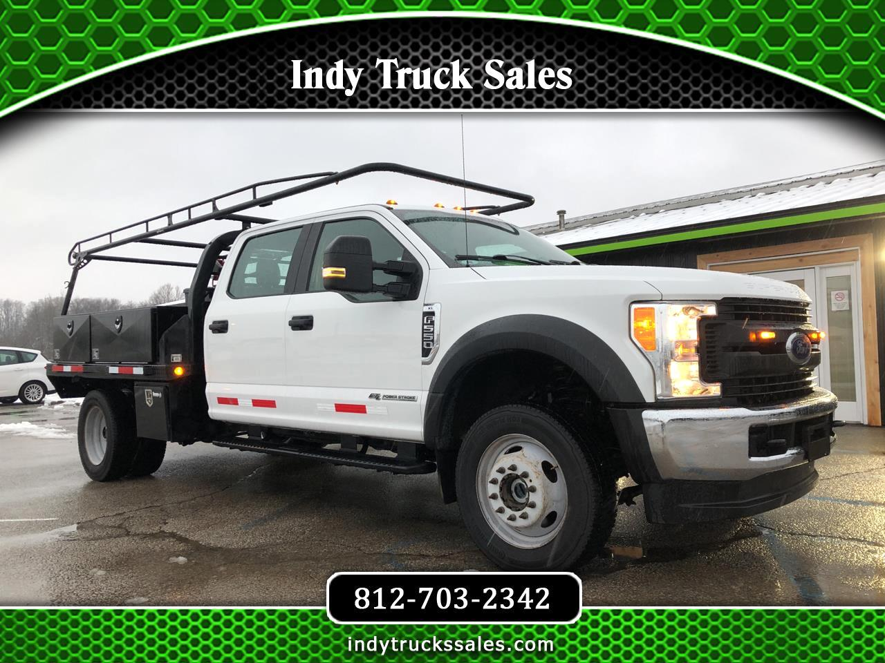 "Ford Super Duty F-550 DRW Crew Cab 176"" WB 60"" CA XL 4WD 2017"