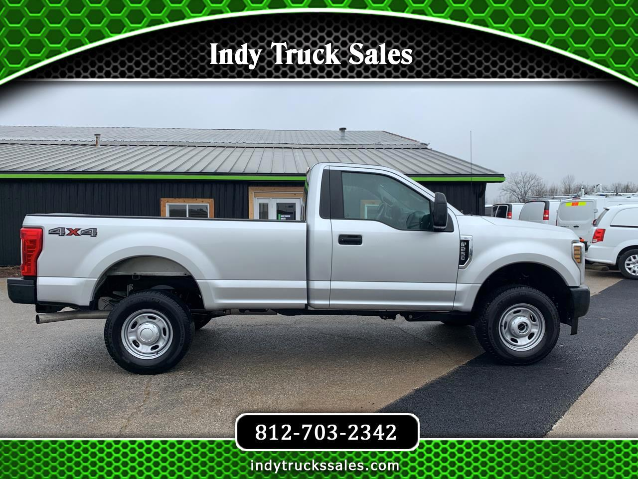 Ford Super Duty F-250 SRW XL 4WD Reg Cab 8' Box 2019