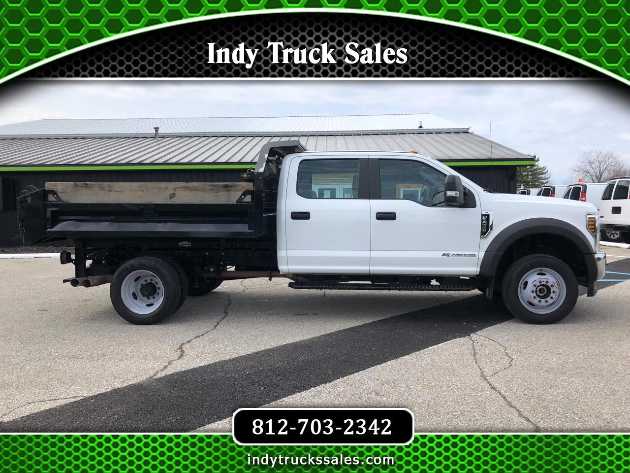 "Ford Super Duty F-450 DRW XL 4WD Crew Cab 179"" WB 60"" CA 2018"