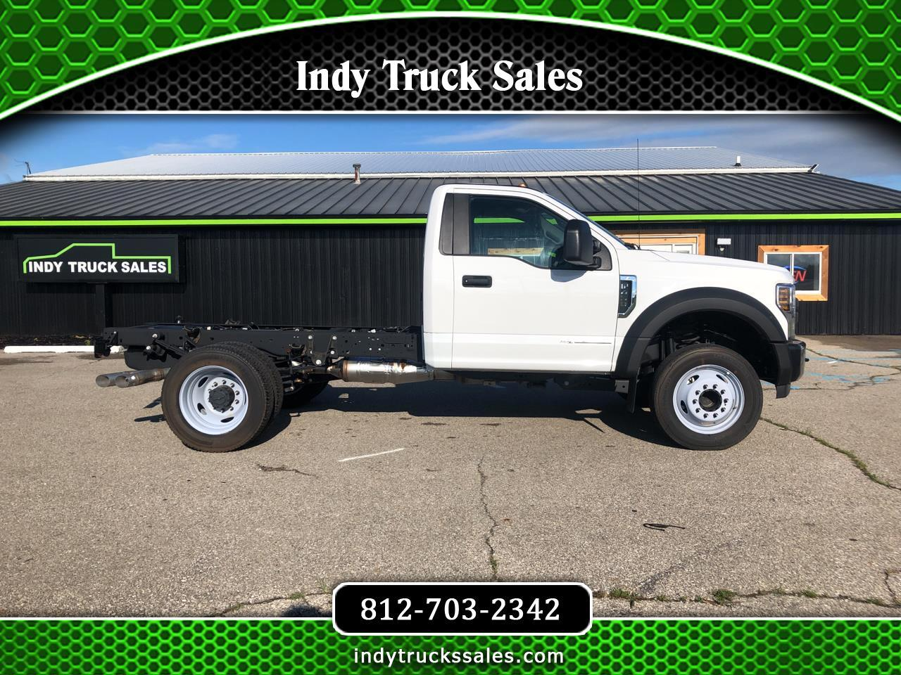 "Ford Super Duty F-450 DRW XL 2WD Reg Cab 145"" WB 60"" CA 2019"