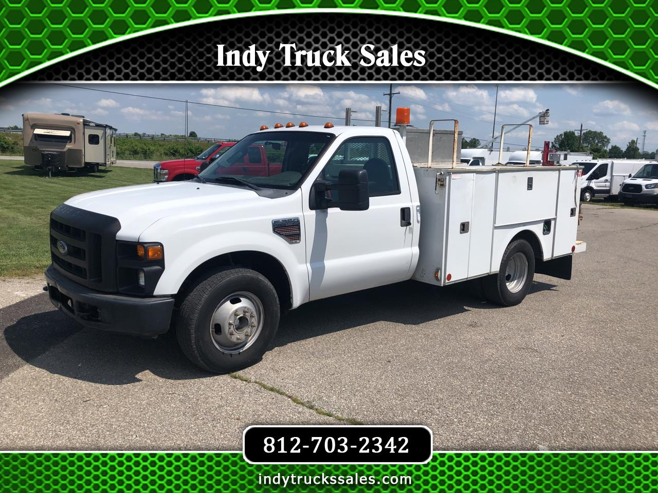 "Ford Super Duty F-350 DRW 2WD Reg Cab 141"" WB 60"" CA XL 2010"