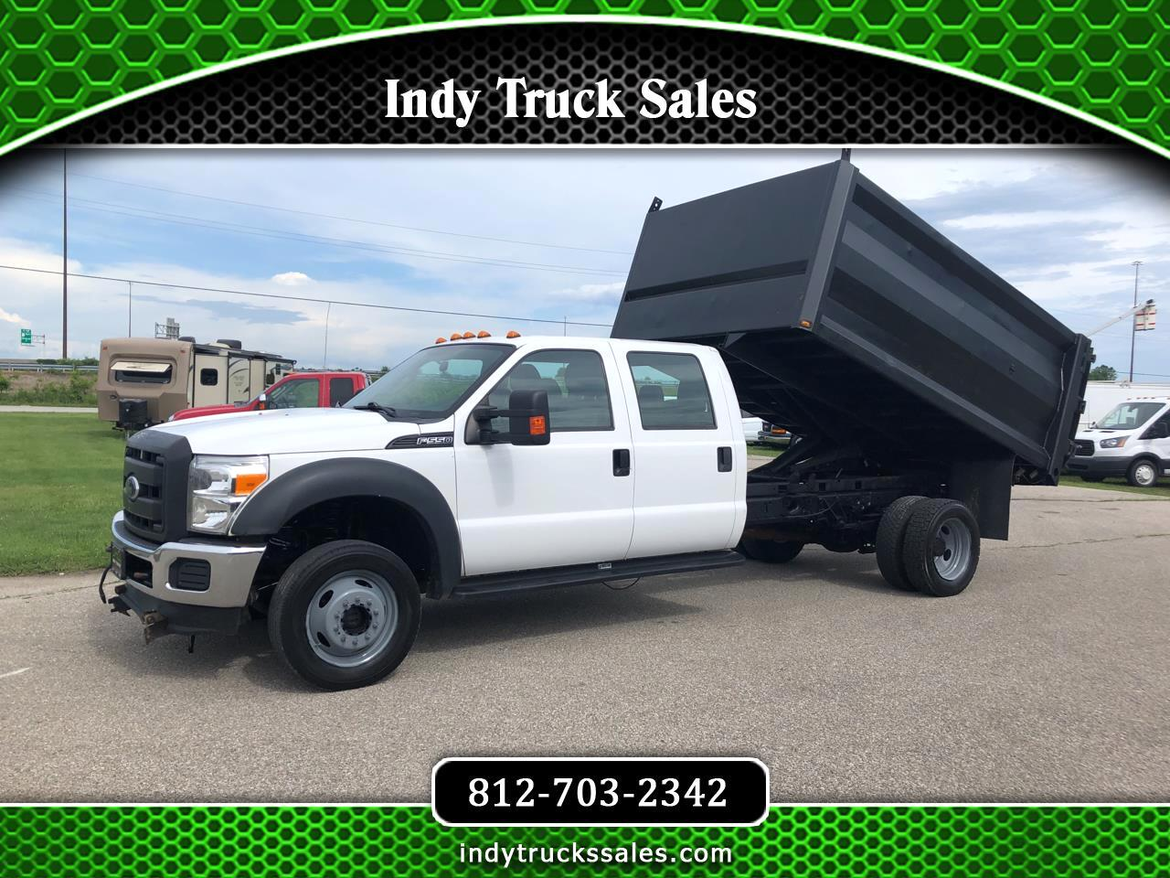 "Ford Super Duty F-550 DRW 4WD Crew Cab 200"" WB 84"" CA XL 2015"