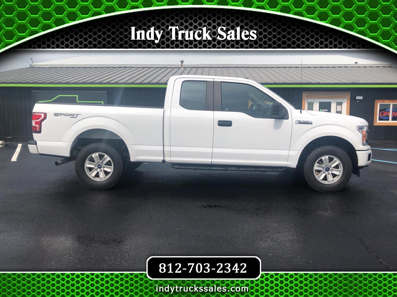 Ford F-150 XL 4WD SuperCab 8' Box 2018