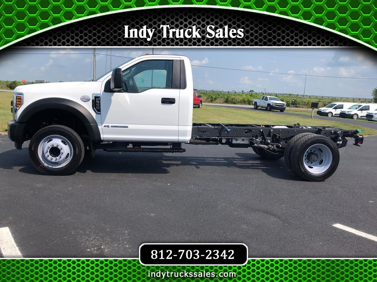 "Ford Super Duty F-550 DRW XL 2WD Reg Cab 169"" WB 84"" CA 2019"