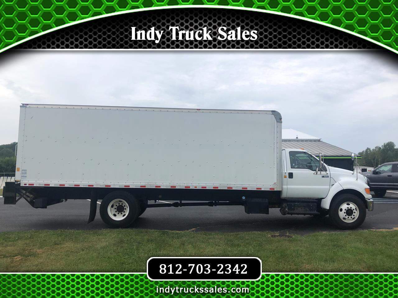 Ford Super Duty F-650 Straight Frame Reg Cab XL 2012