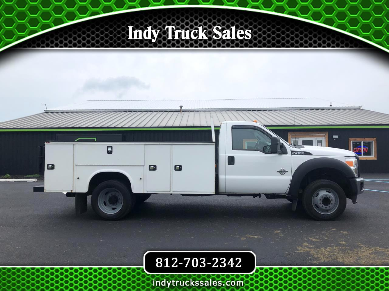 "Ford Super Duty F-450 DRW 2WD Reg Cab 165"" WB 84"" CA XL 2014"