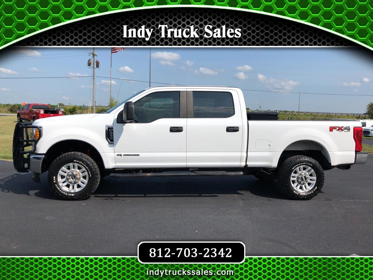 Ford Super Duty F-250 SRW XL 4WD Crew Cab 6.75' Box 2017