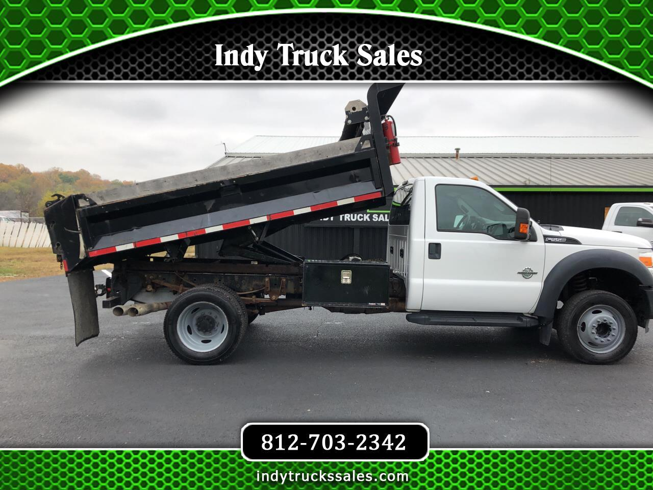 "Ford Super Duty F-550 DRW 2WD Reg Cab 165"" WB 84"" CA XL 2013"