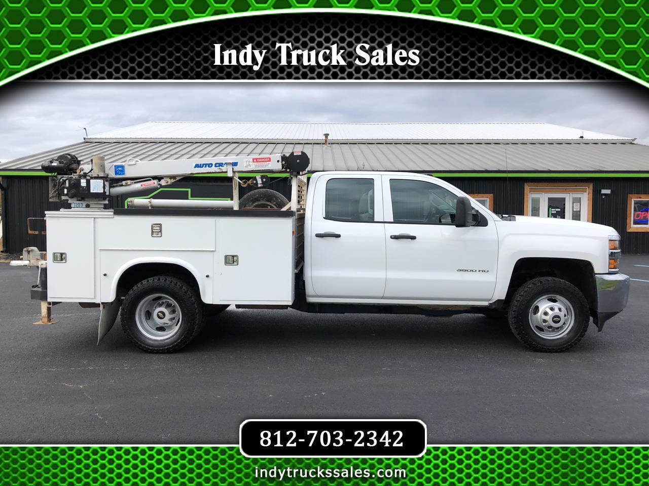 "Chevrolet Silverado 3500HD 4WD Double Cab 158.1"" Work Truck 2016"