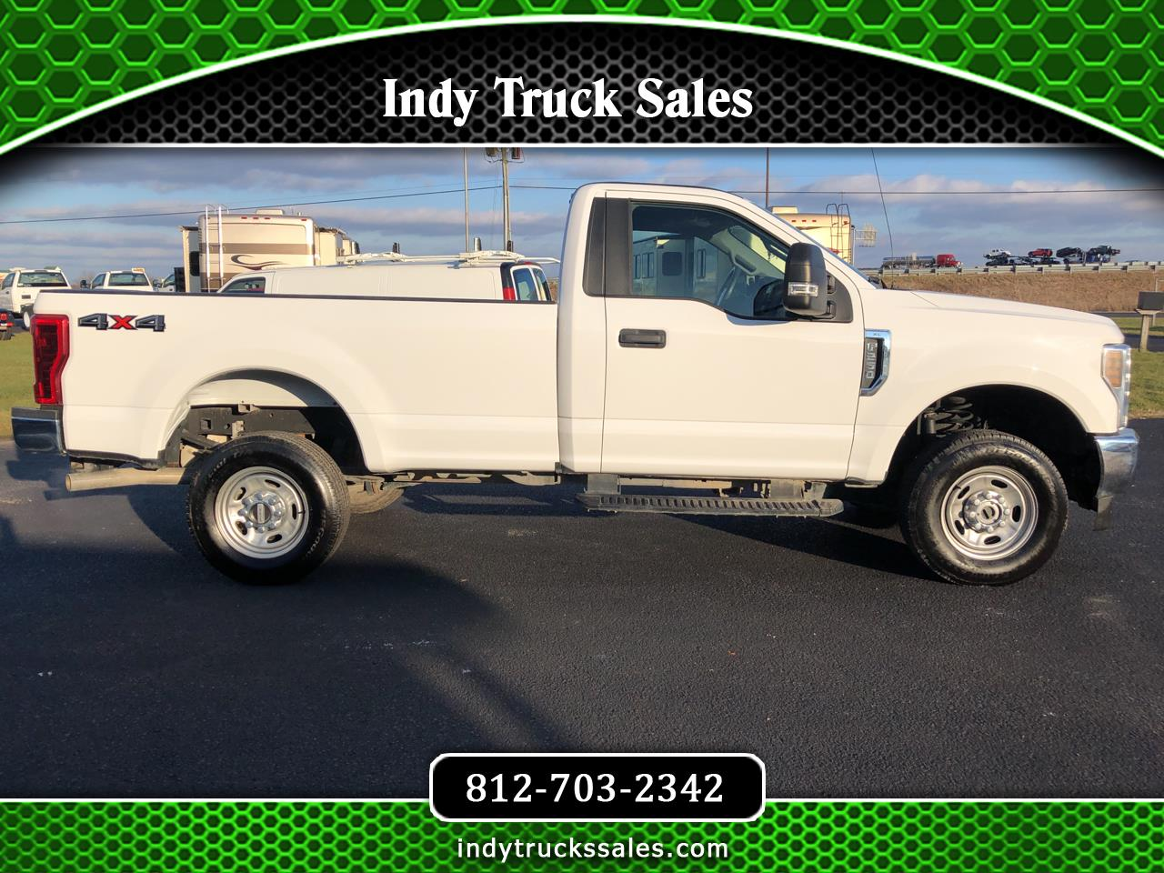 Ford Super Duty F-250 SRW XL 4WD Reg Cab 8' Box 2018
