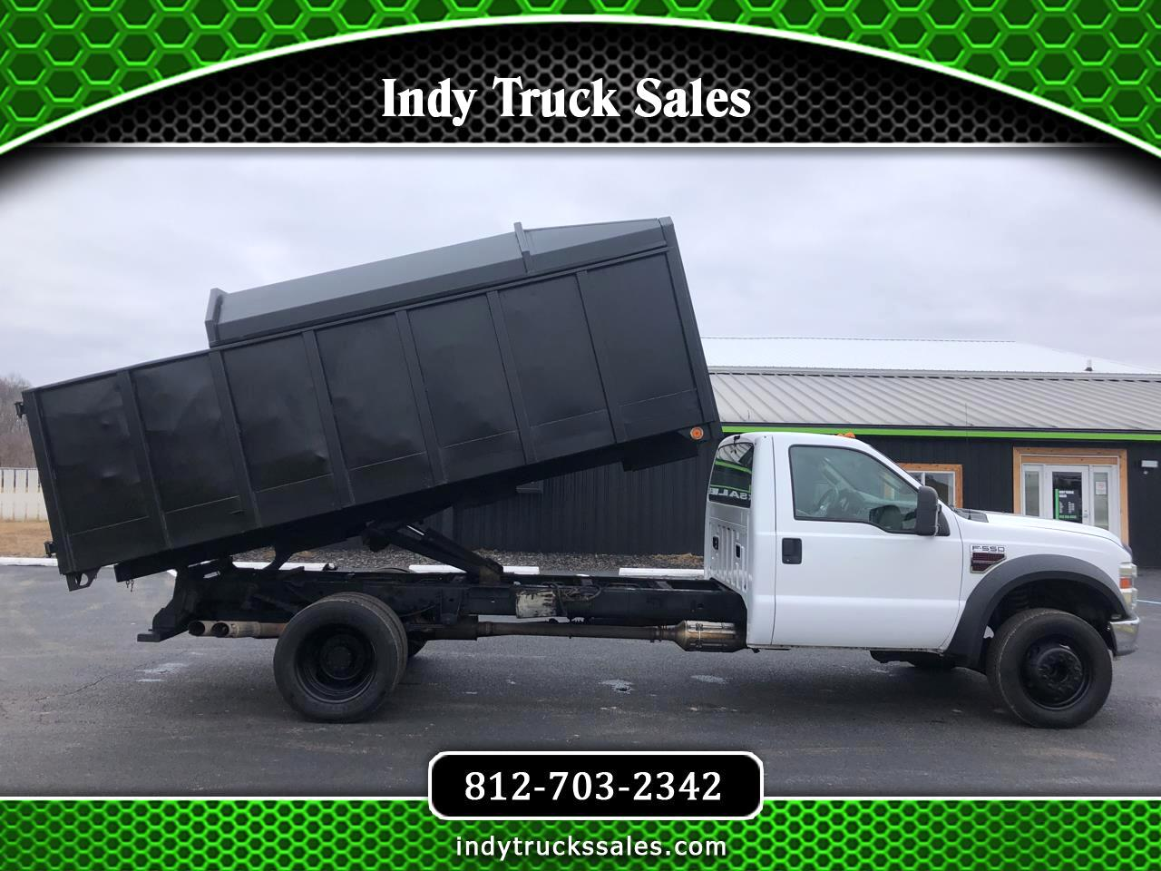 "Ford Super Duty F-550 DRW 2WD Reg Cab 165"" WB 84"" CA XL 2008"