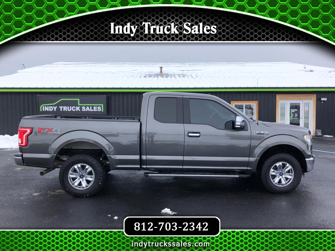 "Ford F-150 4WD SuperCab 163"" XLT 2015"
