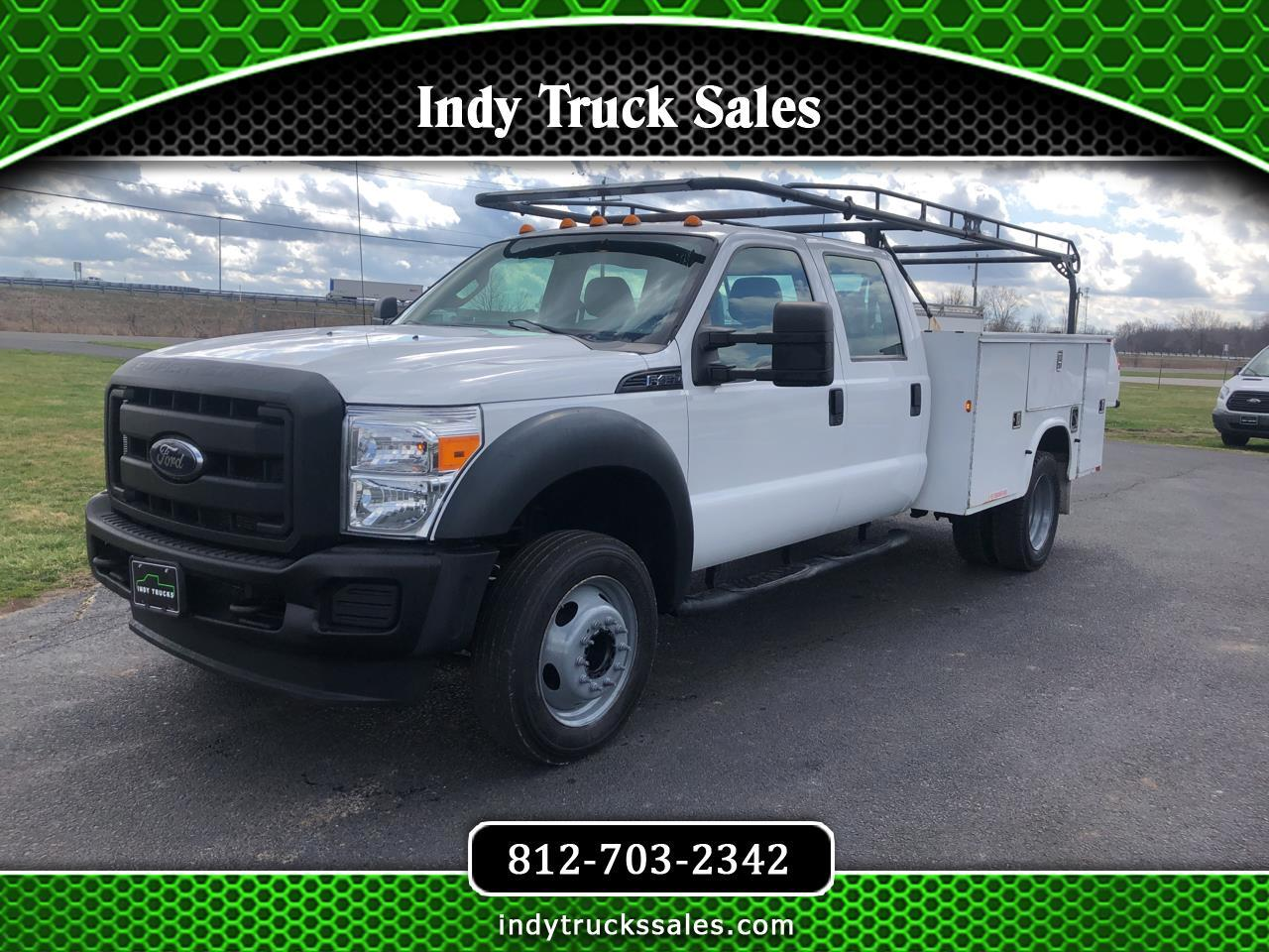 "Ford Super Duty F-450 DRW 2WD Crew Cab 176"" WB 60"" CA XL 2012"