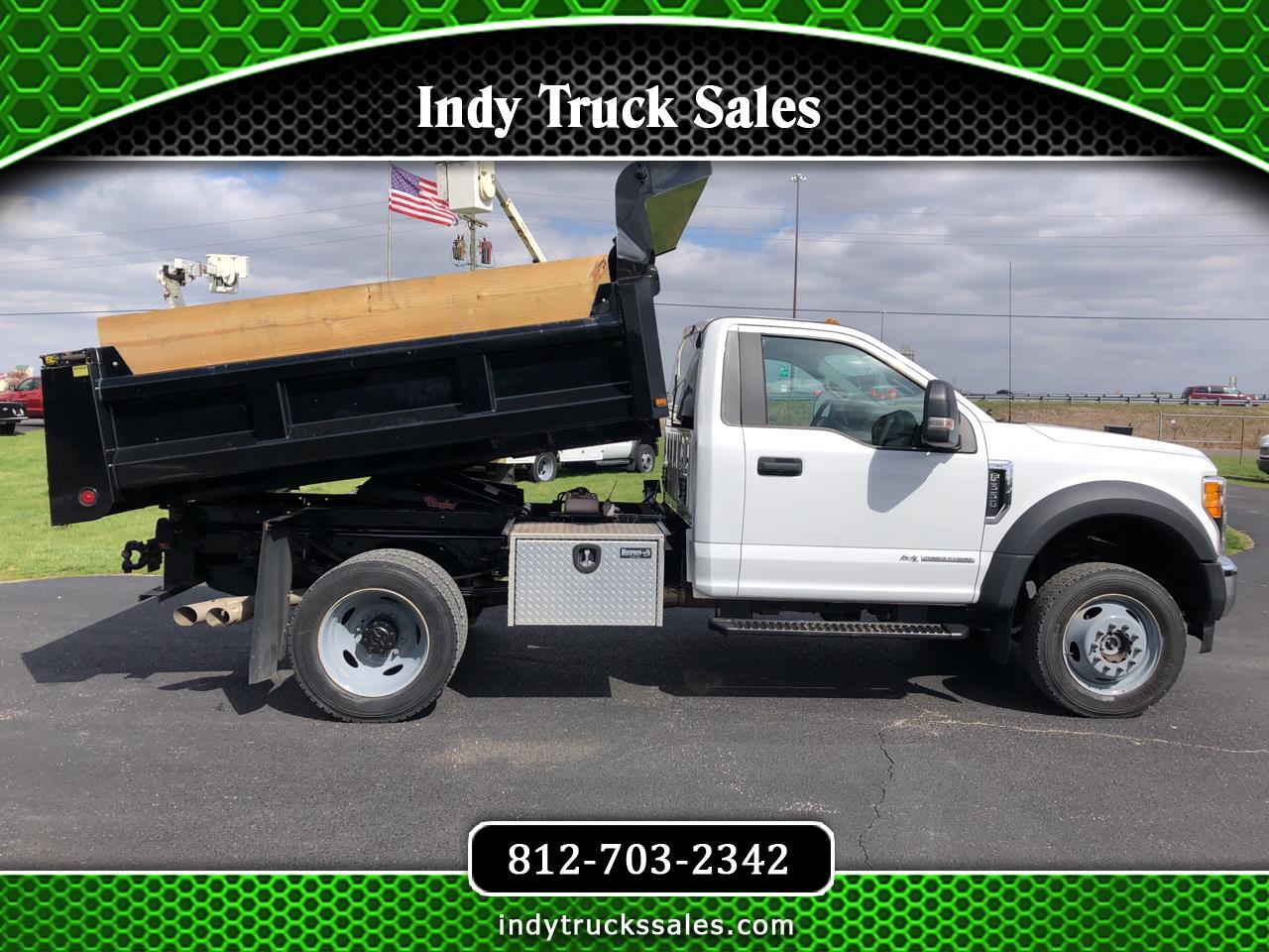 "Ford Super Duty F-550 DRW XL 4WD Reg Cab 145"" WB 60"" CA 2017"