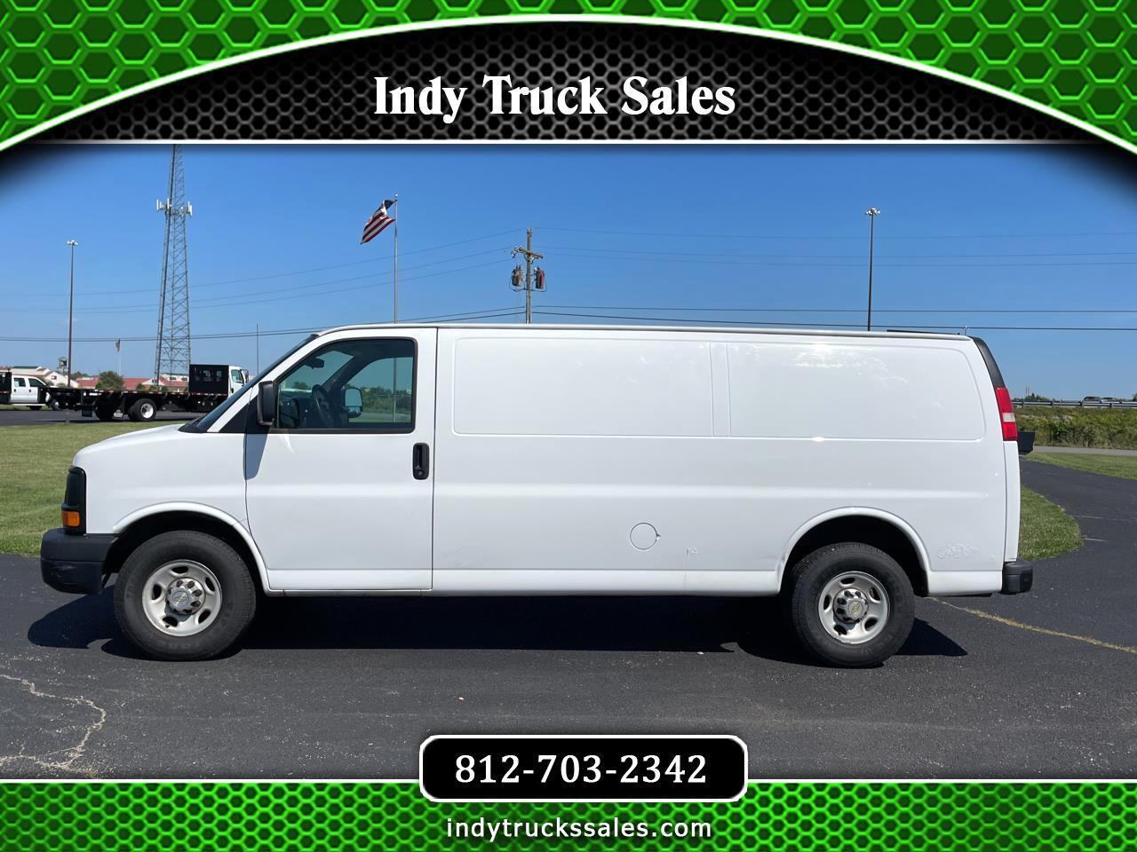 """Chevrolet Express Cargo Van RWD 2500 155"""" 2012"""