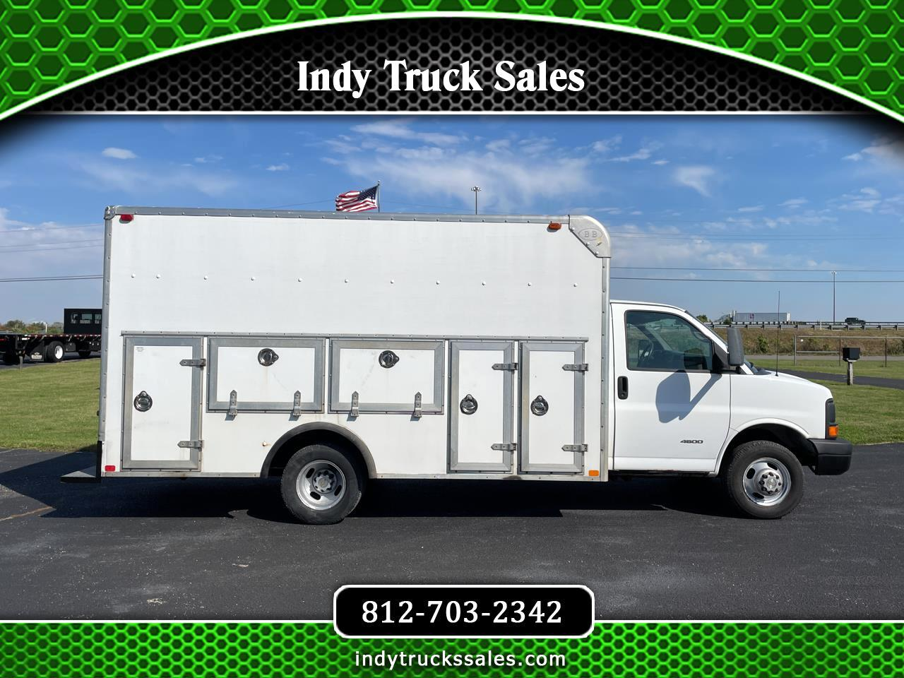 """Chevrolet Express Commercial Cutaway 4500 159"""" WB 2009"""