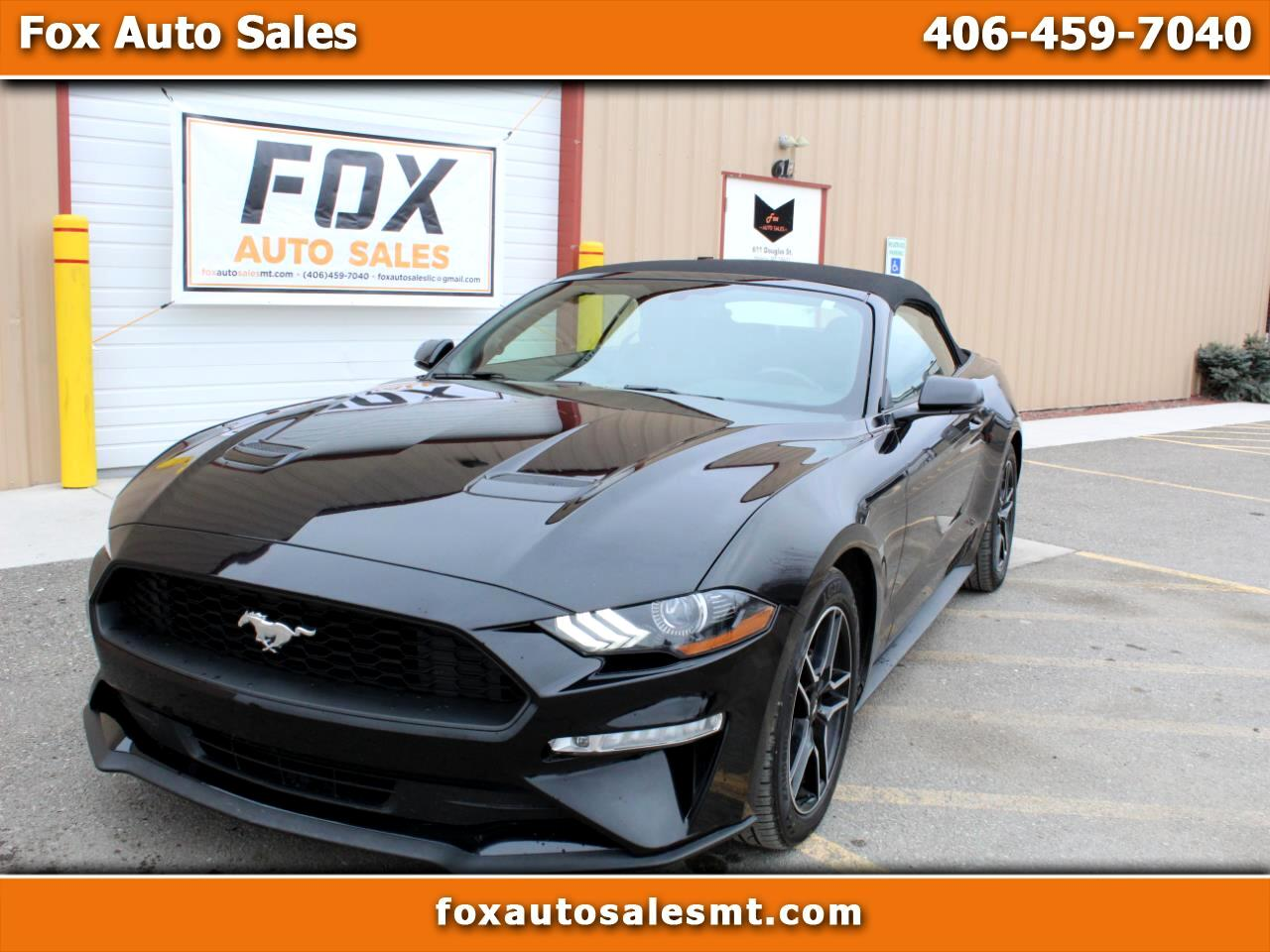 Ford Mustang 2dr Conv EcoBoost Premium 2018