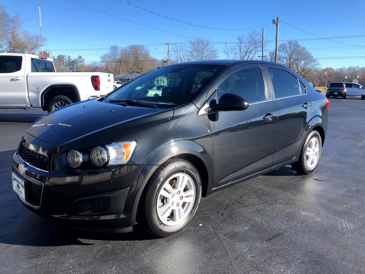 Chevrolet Sonic LT Auto Sedan 2014