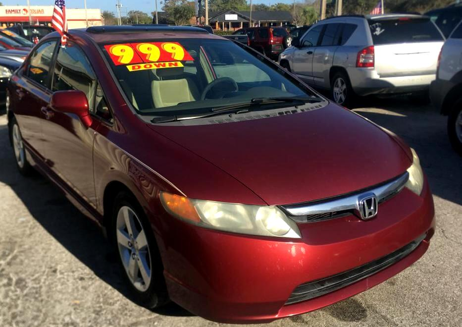 Honda Civic EX sedan AT 2008