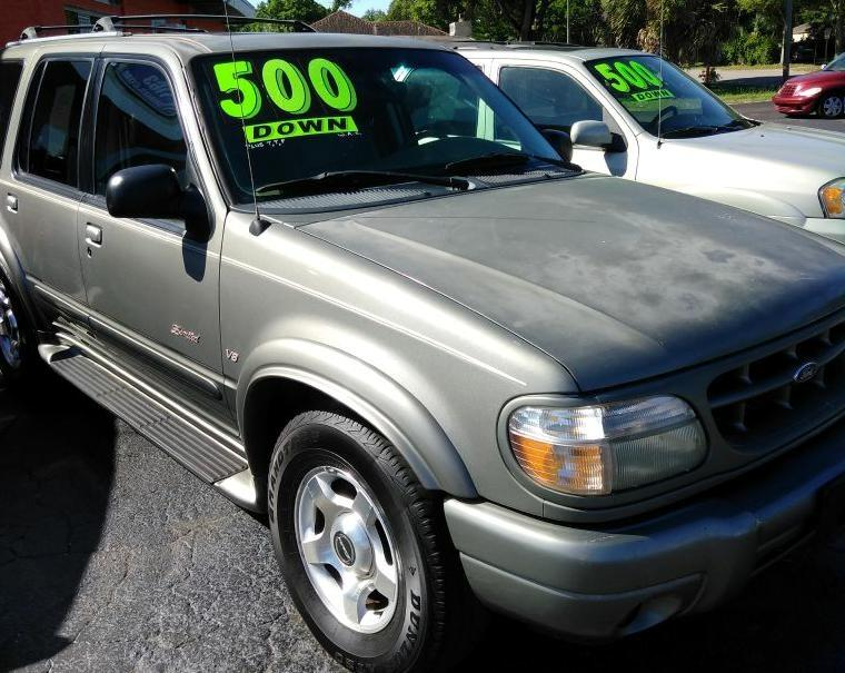 2000 Ford Explorer Limited 2WD