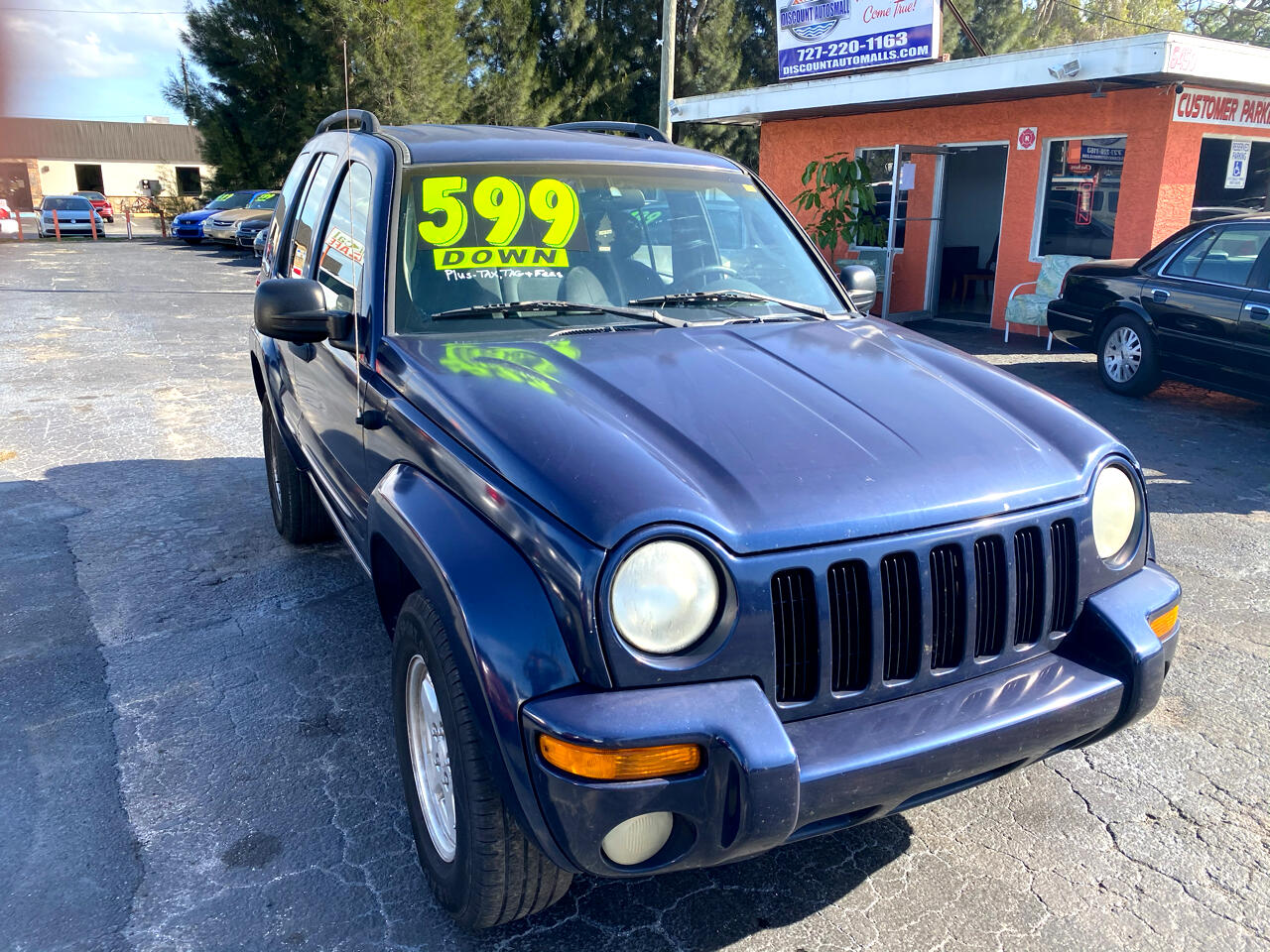 Jeep Liberty Limited 2WD 2002