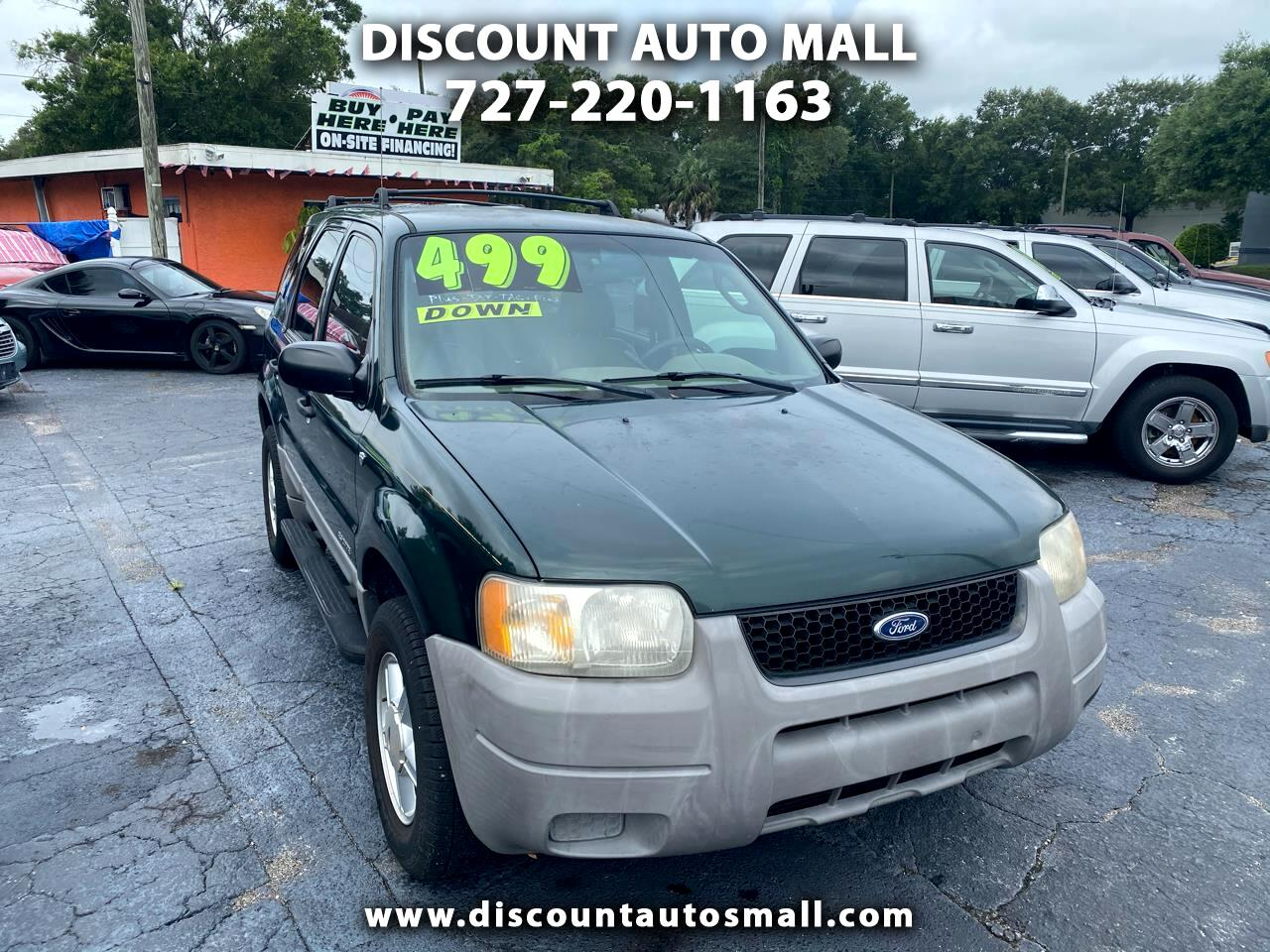 "Ford Escape 4dr 103"" WB XLS Choice 2002"