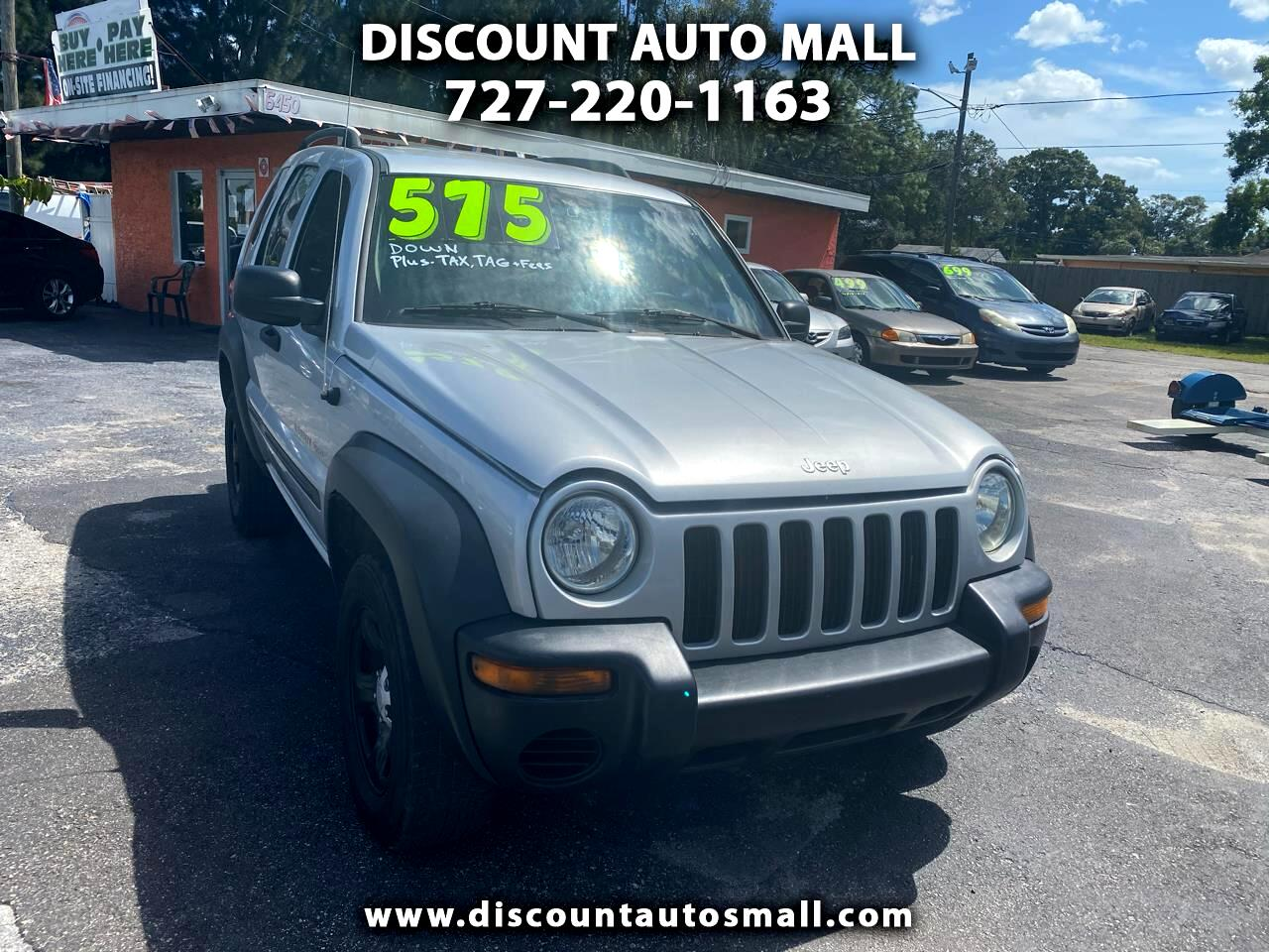 Jeep Liberty 4dr Sport 2002