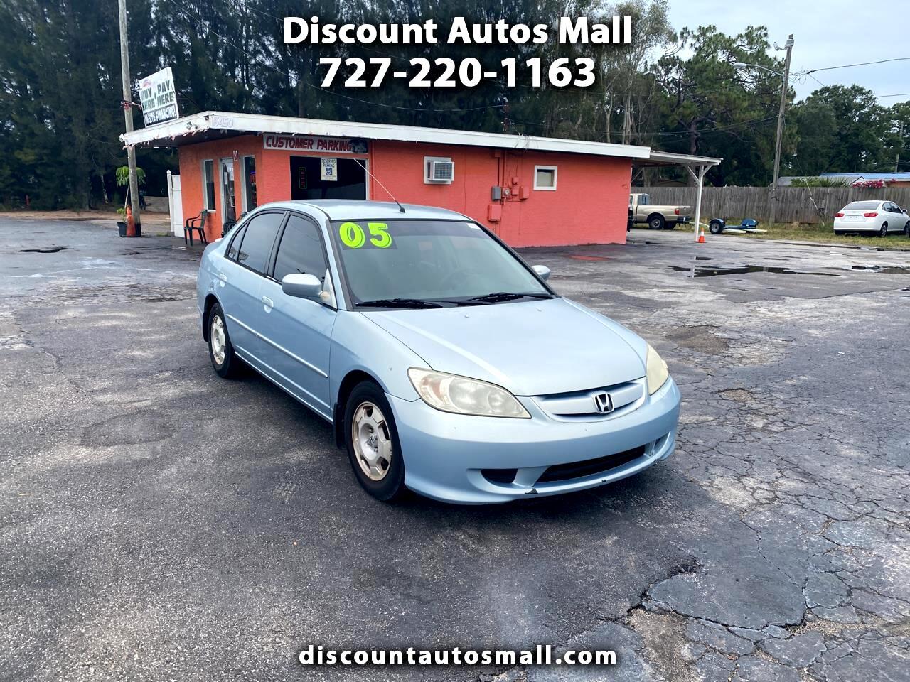 2005 Honda Civic Hybrid CVT ULEV