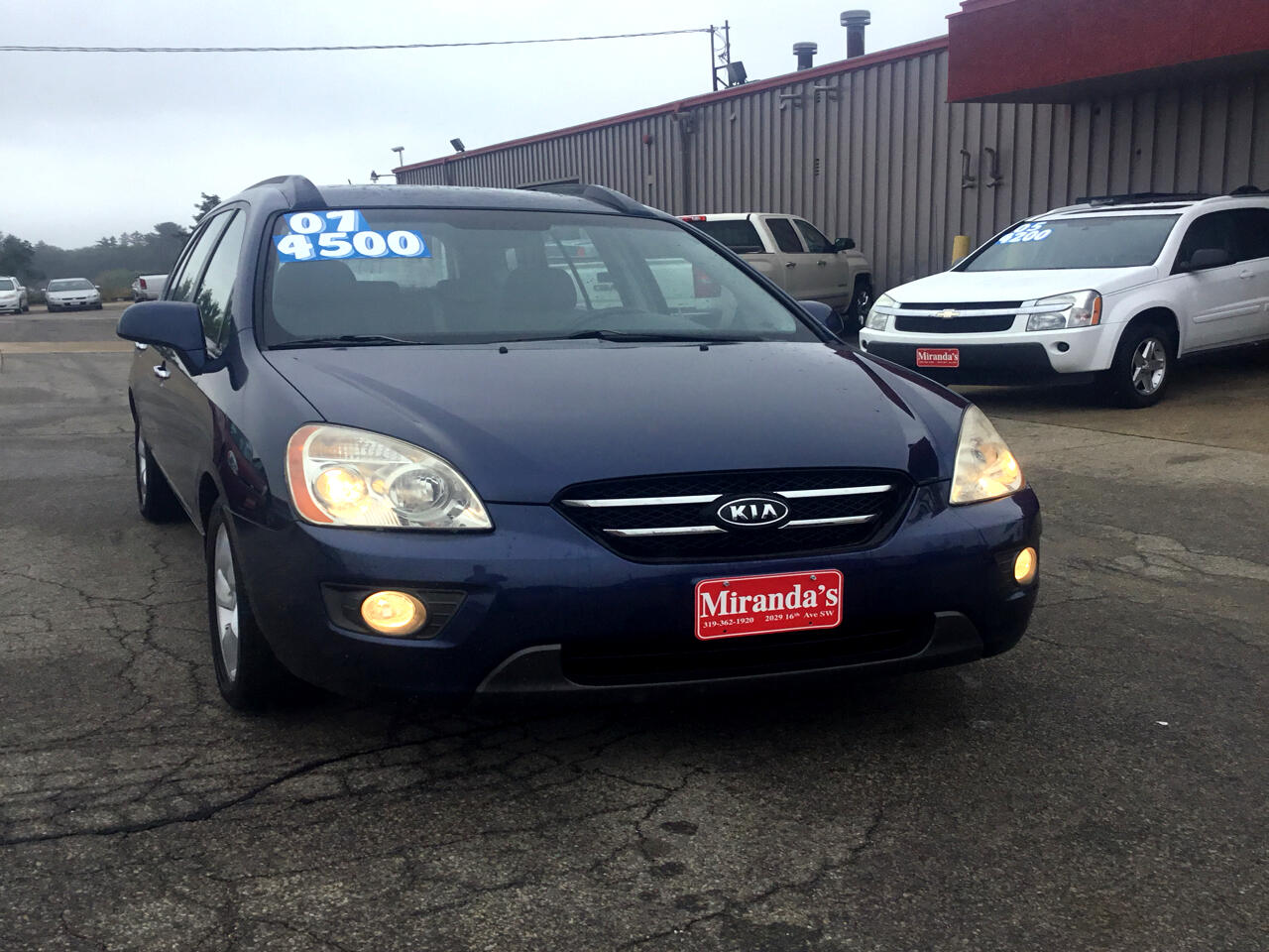 used 2007 kia rondo base for sale in cedar rapids ia 52404 miranda s auto sales repair miranda s auto sales repair