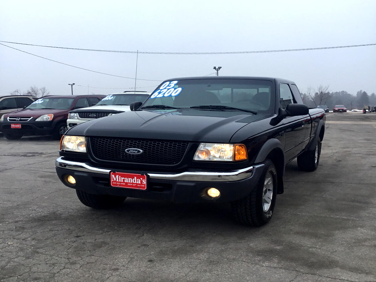 Ford Ranger Edge SuperCab 4WD 2003