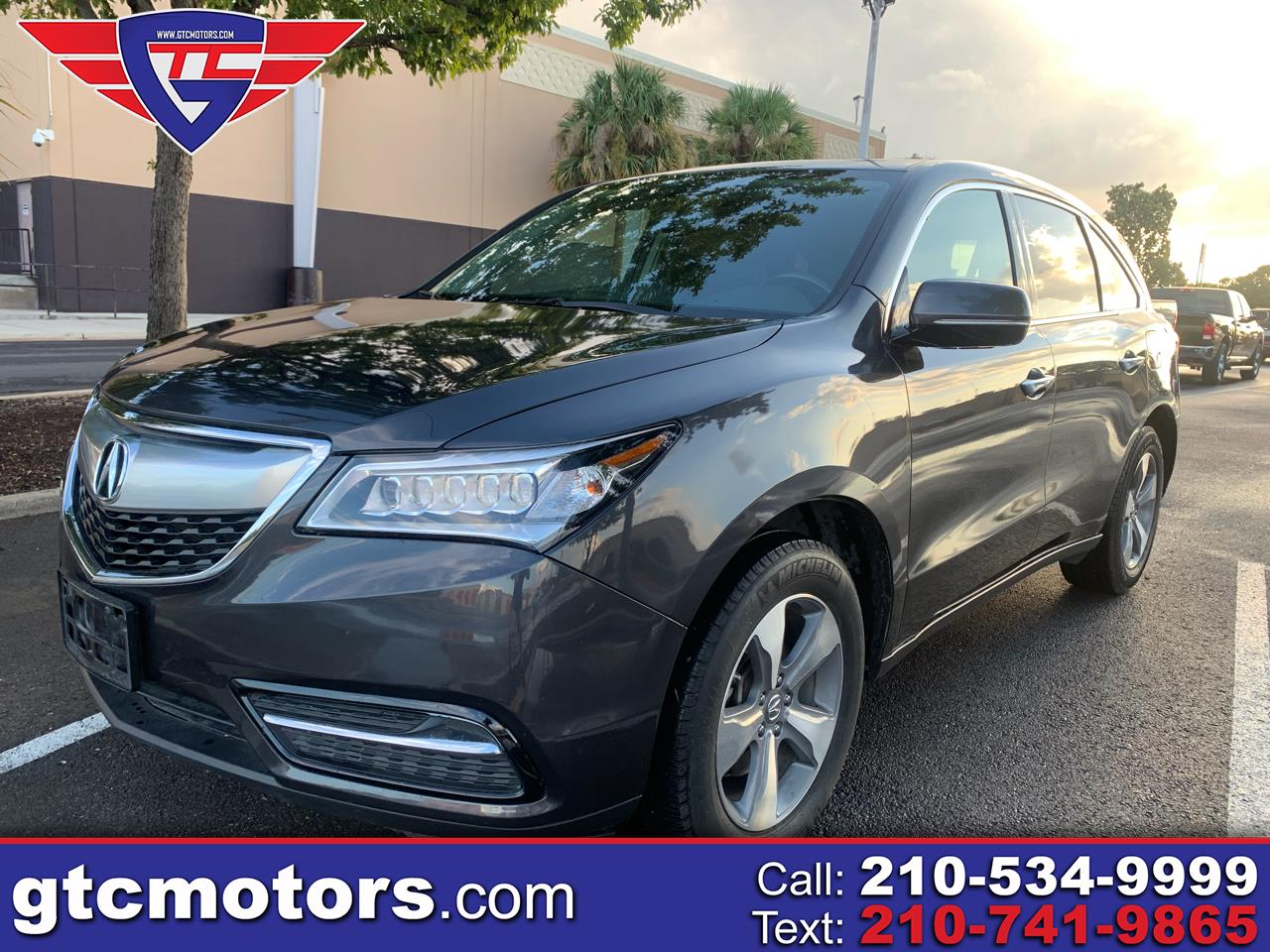 Acura MDX 4dr SUV AT Touring 2014